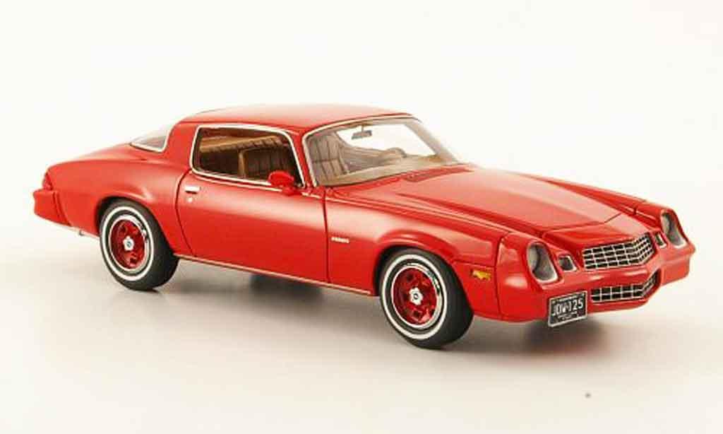 Chevrolet Camaro LT 1/43 Neo LT rouge 1978 miniature