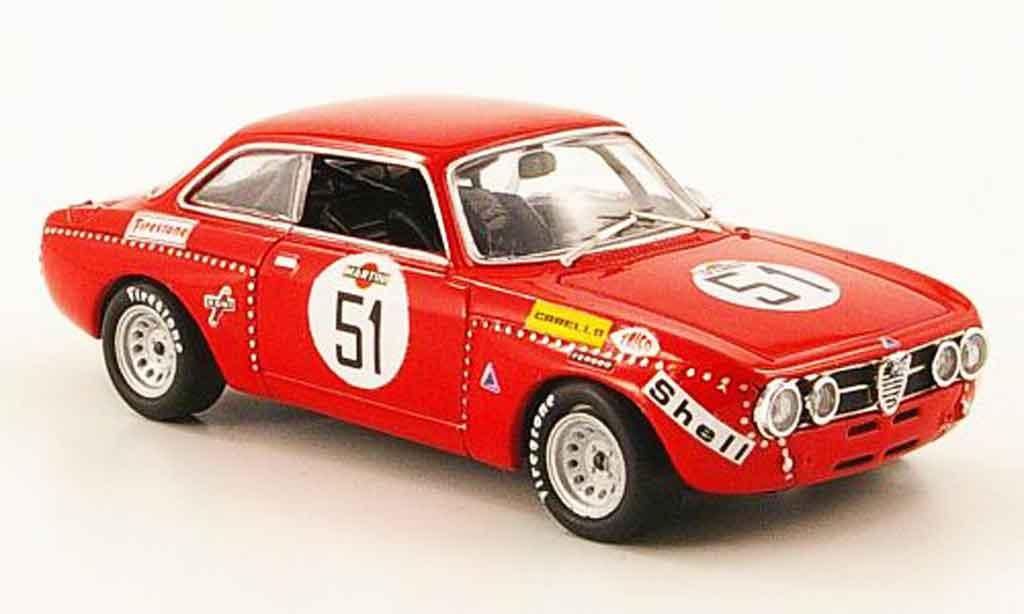 Alfa Romeo Giulia GTAm 1/43 M4 no.51 dini dona spa 1973 miniature