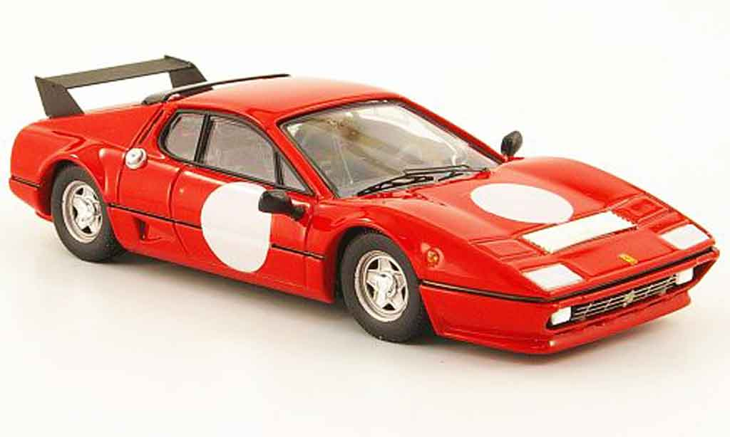 Ferrari 512 BB 1/43 Best red test a fiorano 1978 diecast