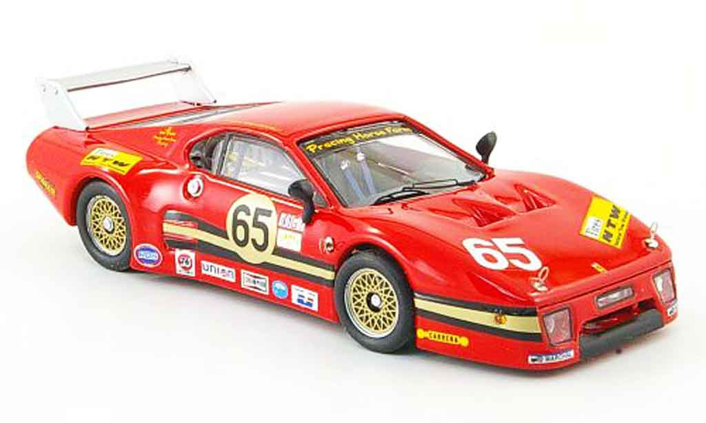 Ferrari 512 BB LM 1/43 Best (3.serie) no.65 daytona 1983 diecast model cars