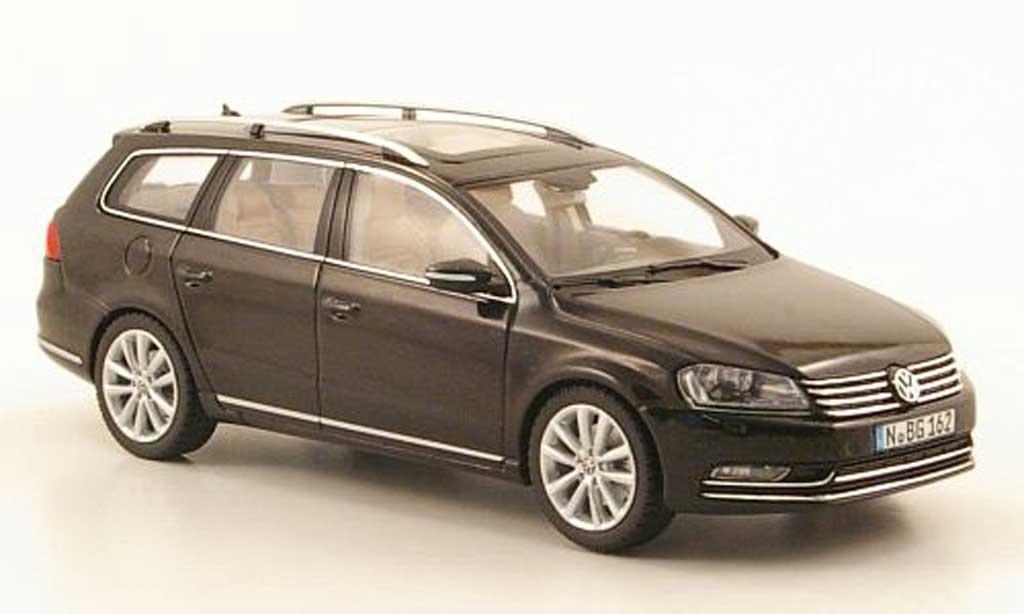 Volkswagen Passat 1/43 Schuco Variant (B7) noire 2010 miniature