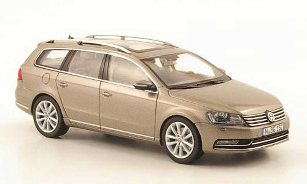 Volkswagen Passat 1/43 Schuco Variant beige 2010 diecast model cars