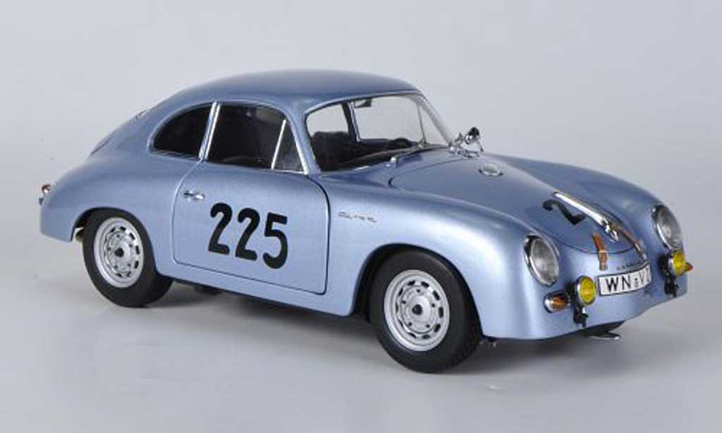 Porsche 356 1/18 Schuco 1957 A Carrera GT No.225 Mille Miglia diecast model cars