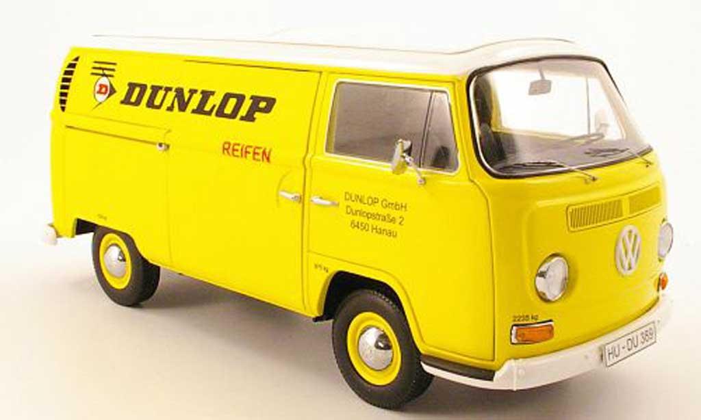 Volkswagen Combi 1/18 Schuco t2a kasten dunlop lieferwagen diecast