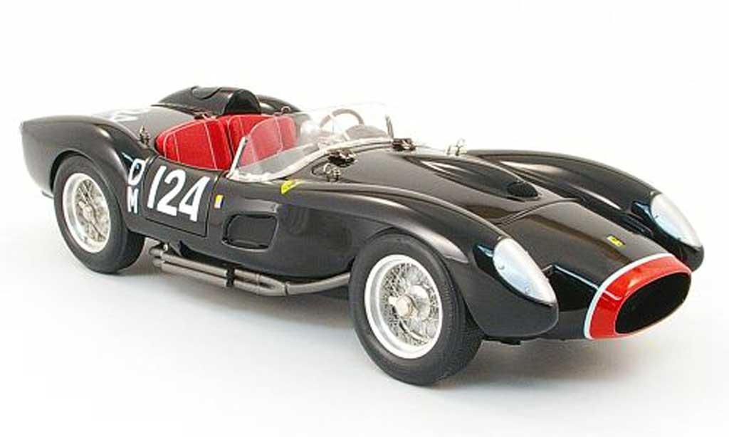 Ferrari 250 TR 1957 1/18 CMC no. dm124 noire/rouge miniature