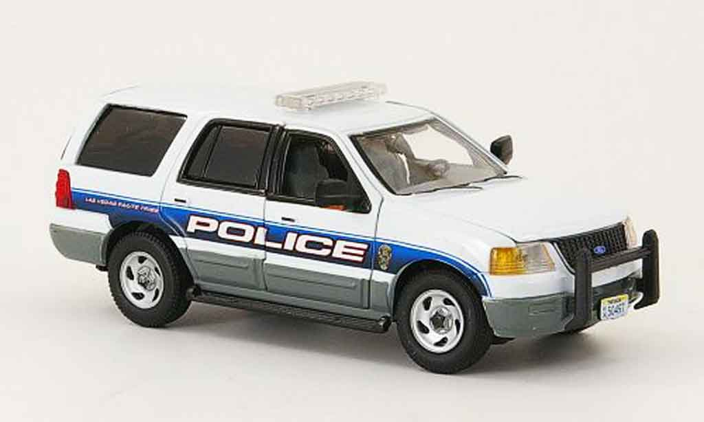 Ford Expedition 1/43 Gearbox Las Vegas Paiute Tribe Police police
