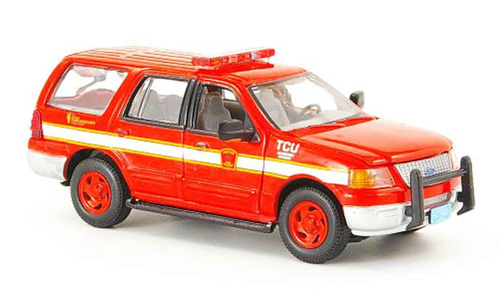 Ford Expedition 1/43 Gearbox Boston Fire Dept. pompier miniature