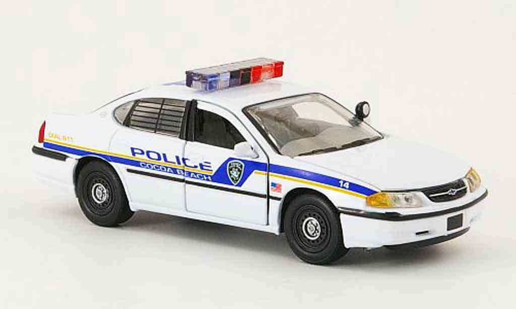 Chevrolet Impala Police 1/43 Gearbox Police Cocoa Beach Police police miniature