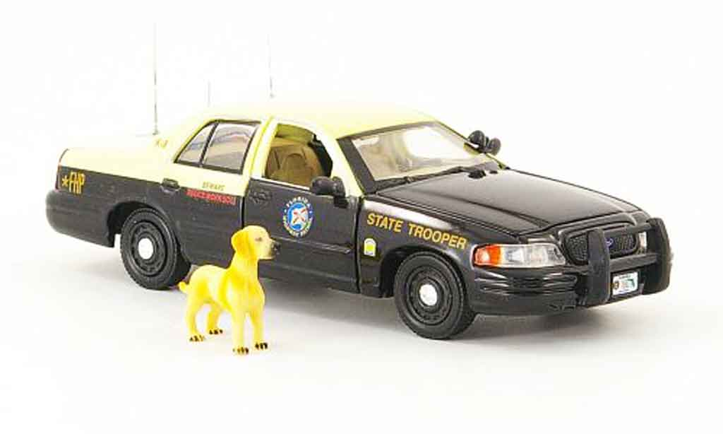 Ford Crown 1/43 First Response Victoria Florida Highway Patrol K 9 miniature