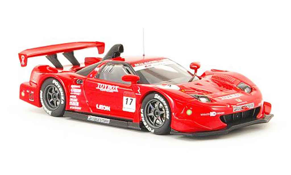 Honda NSX Super GT 1/43 Ebbro No.17 Toybox 2008 diecast model cars