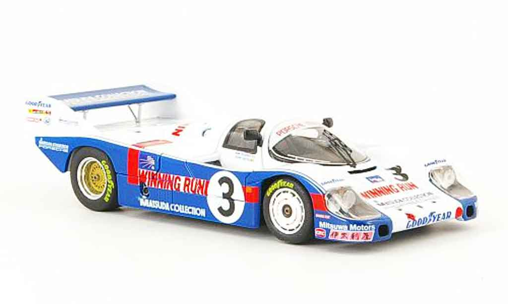 Porsche 956 1983 1/43 Ebbro No.3 Winning Run WEC Japan miniature