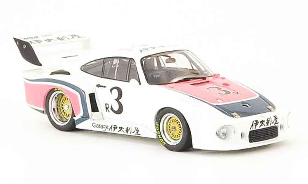 Porsche 935 1978 1/43 Ebbro No.3 Italya 500 Meilen Fuji miniatura
