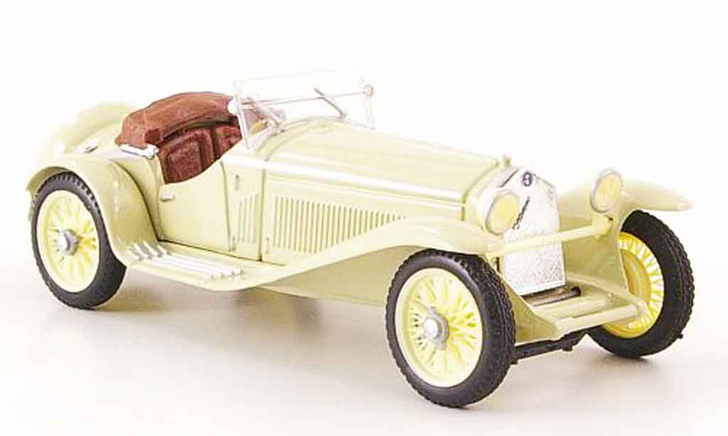 Alfa Romeo 1750 GS 1/43 Brumm zagato beige 1931 miniature