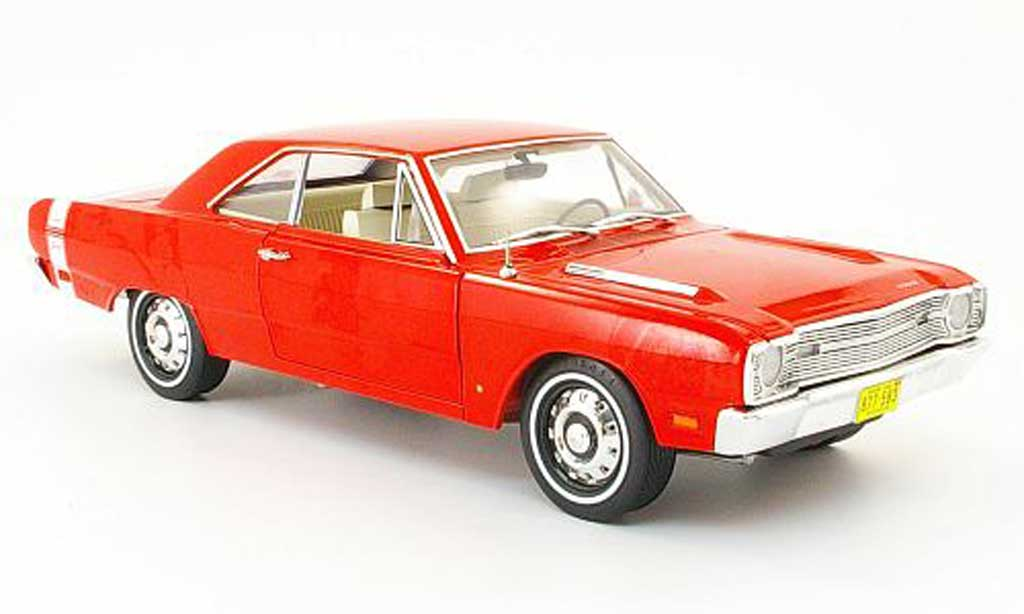 Dodge Dart 1969 1/18 Highway 61 340 swinger red-orange diecast model cars