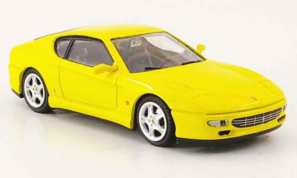 Ferrari 456 1/43 Bang gt jaune miniature