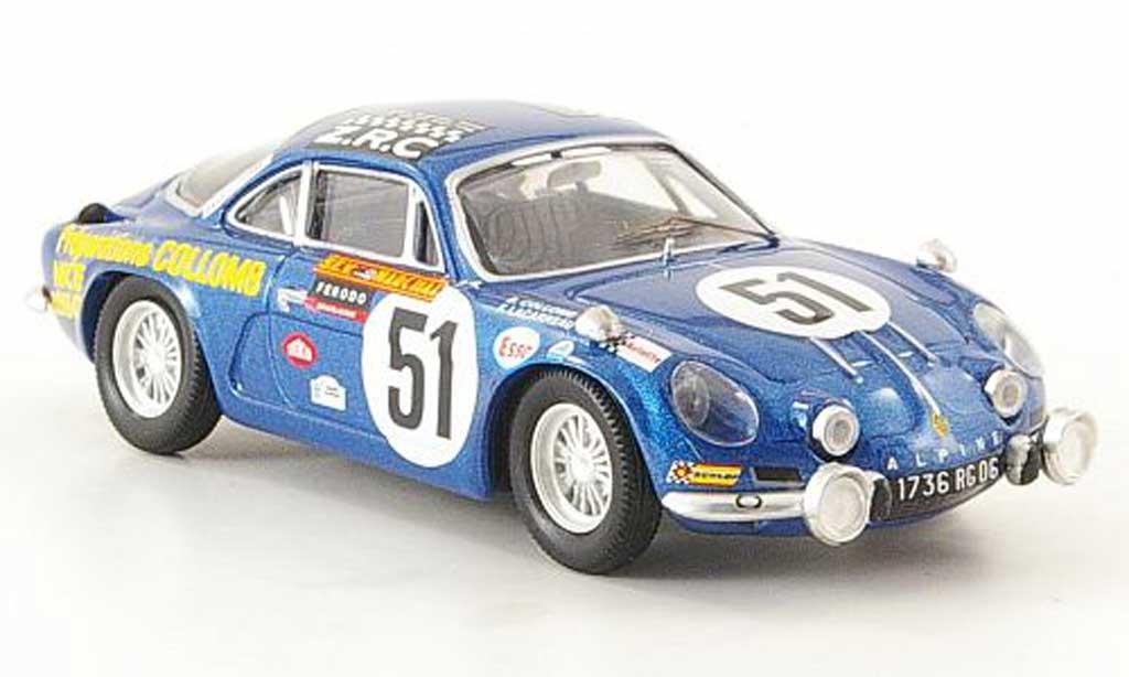 Alpine A110 1/43 Trofeu No.51 24h Le Mans 1968 B.Collomb / F.Lacarreau diecast model cars
