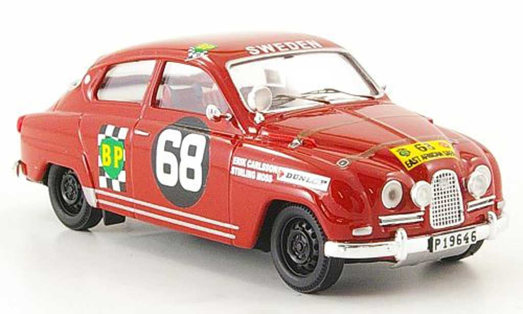 Saab 96 1/43 Trofeu No.68 East African Safari 15 E.Carlsson / S.Moss miniature