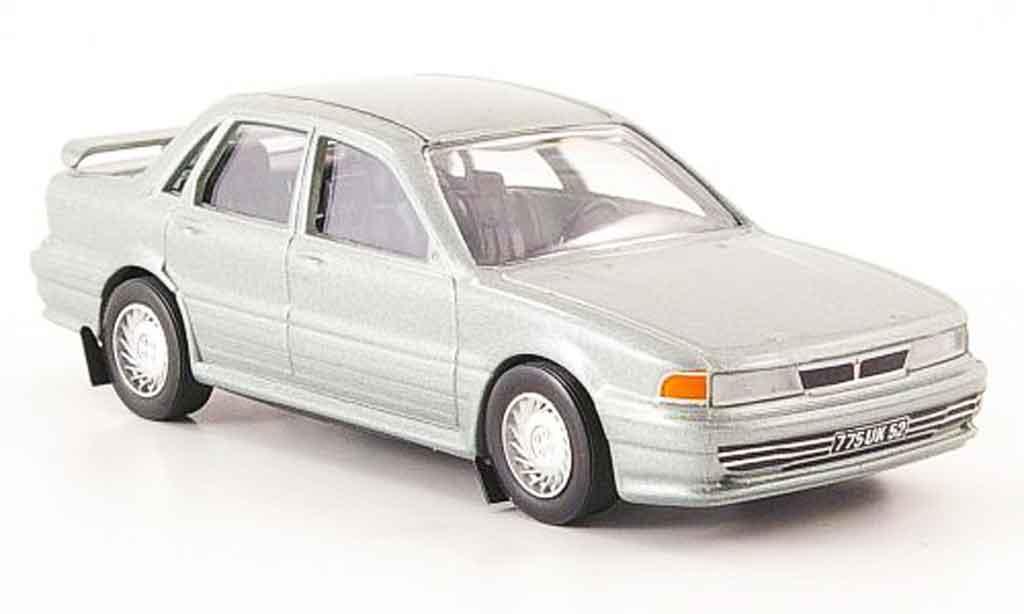 Mitsubishi Galant 1/43 Trofeu GTI 16V grise miniature