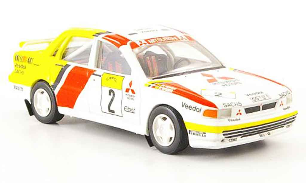 Mitsubishi Galant VR4 1/43 Trofeu No.2 ERC 1992 miniature