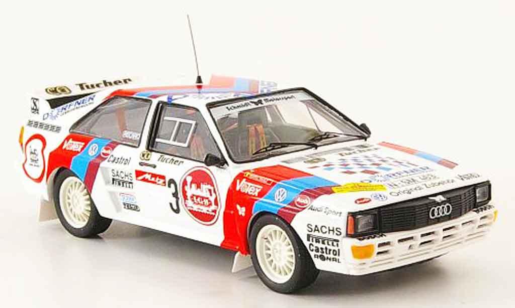 Audi Quattro 1/43 Trofeu No.3 Duez Cantonati Metz Rallye 1985 miniature
