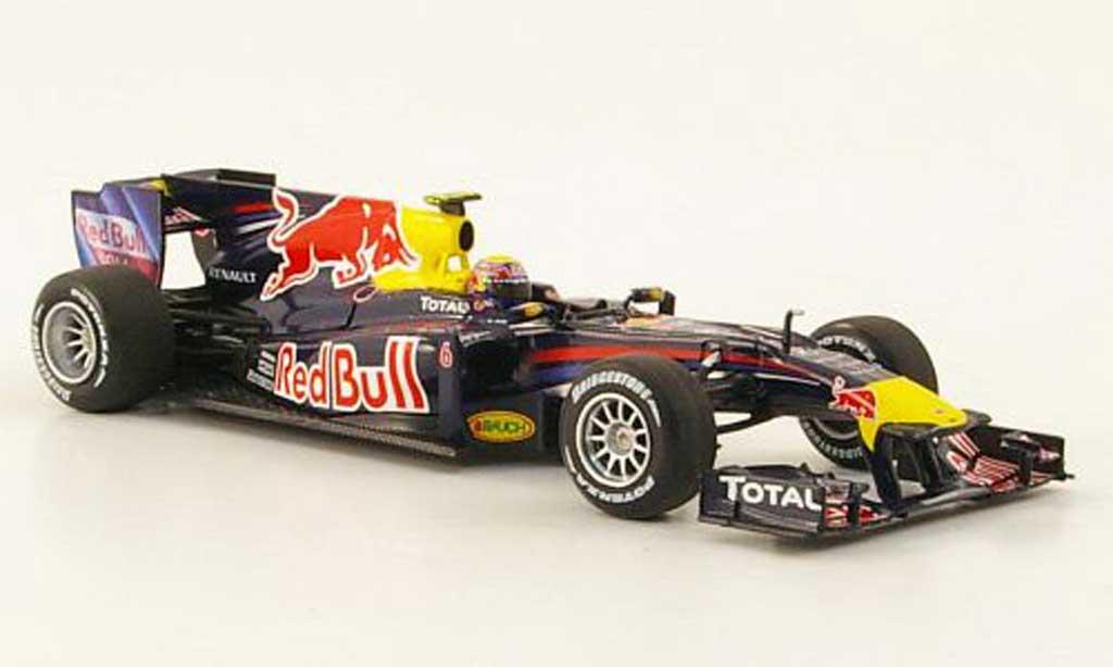 Renault F1 2010 1/43 Minichamps Red Bull RB6 No.6 M.Webber Saison diecast model cars