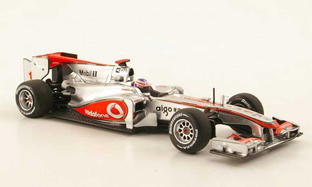 Mercedes F1 2010 1/43 Minichamps McLaren MP4-25 No.1 Vodafone J.Button Saison miniature