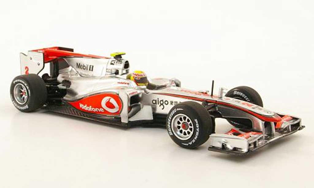 Mercedes F1 2010 1/43 Minichamps McLaren MP4-25 No.2 Vodafone L.Hamilton Saison miniature