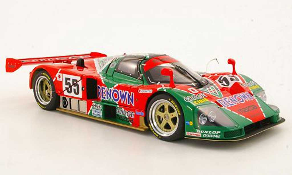 Mazda 787B 1/18 Autoart No.55 Renown Weidler / Herbert / Gachot 24h Le Mans 1991 20th Anniversary Edition diecast model cars