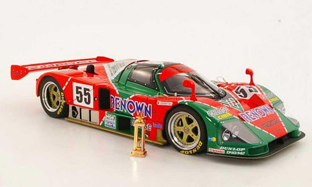 Mazda 787B 1/18 Autoart No.55 Renown 24h Le Mans 1991 Weidler/Herbert/Gachot miniature