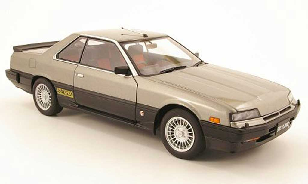 Nissan Skyline RS Turbo 1/18 Autoart skyline hardtop 2000 turbo rsx (dr30) grise 1983 miniature