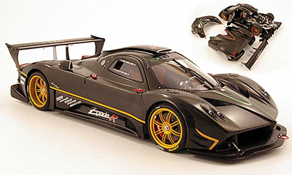 Pagani Zonda R 1/18 Autoart carbon design 2007 diecast model cars