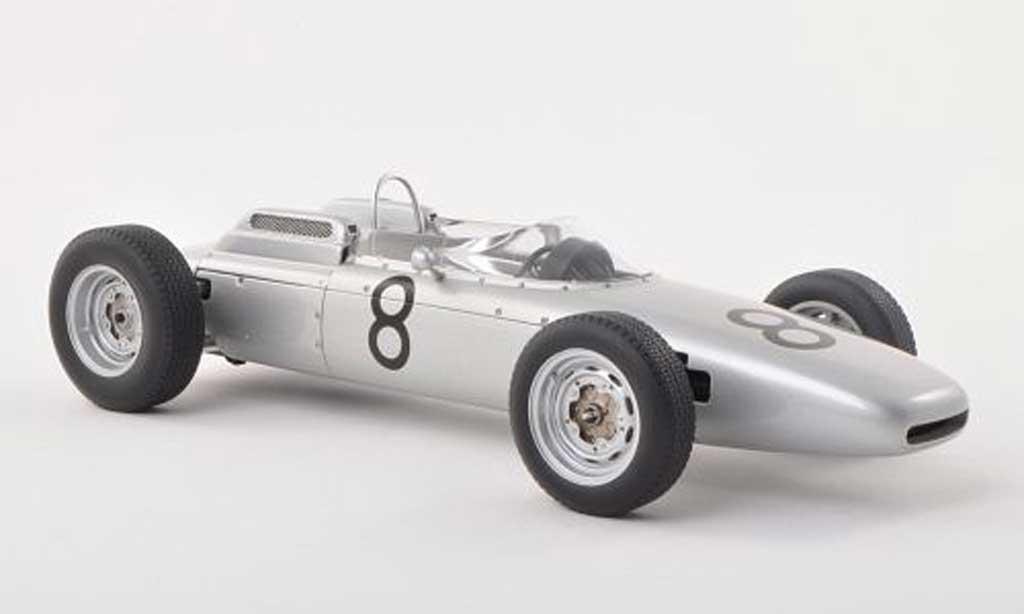 Porsche 804 1962 1/18 Autoart F1 No.8 J.Bonnier GP Nuerburgring miniature
