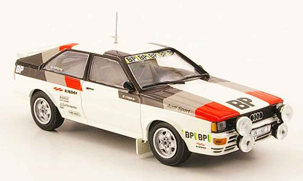 Audi Quattro 1/43 Minichamps Rallye BP Test Car 1981 miniature