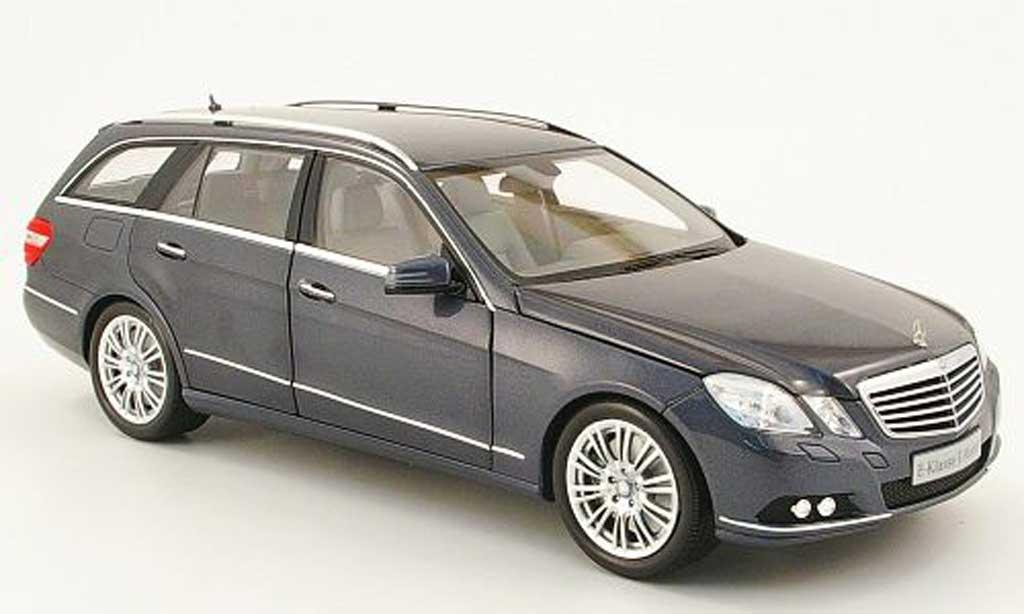 Mercedes Classe E 1/18 Minichamps break (s212) grise 2009 miniature
