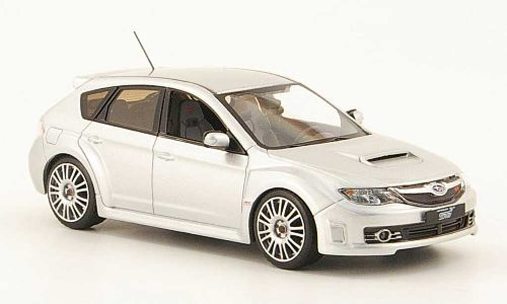 Subaru Impreza WRX 1/43 IXO STI grau 2008 modellautos