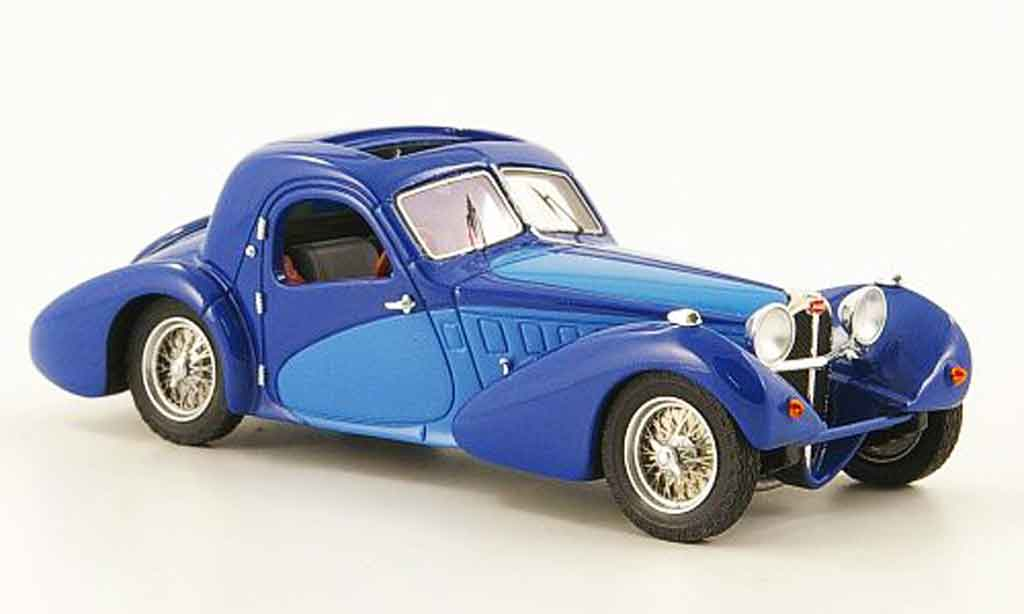 Bugatti 57 SC 1/43 Luxcar bleu bleu corsica 1938 miniature