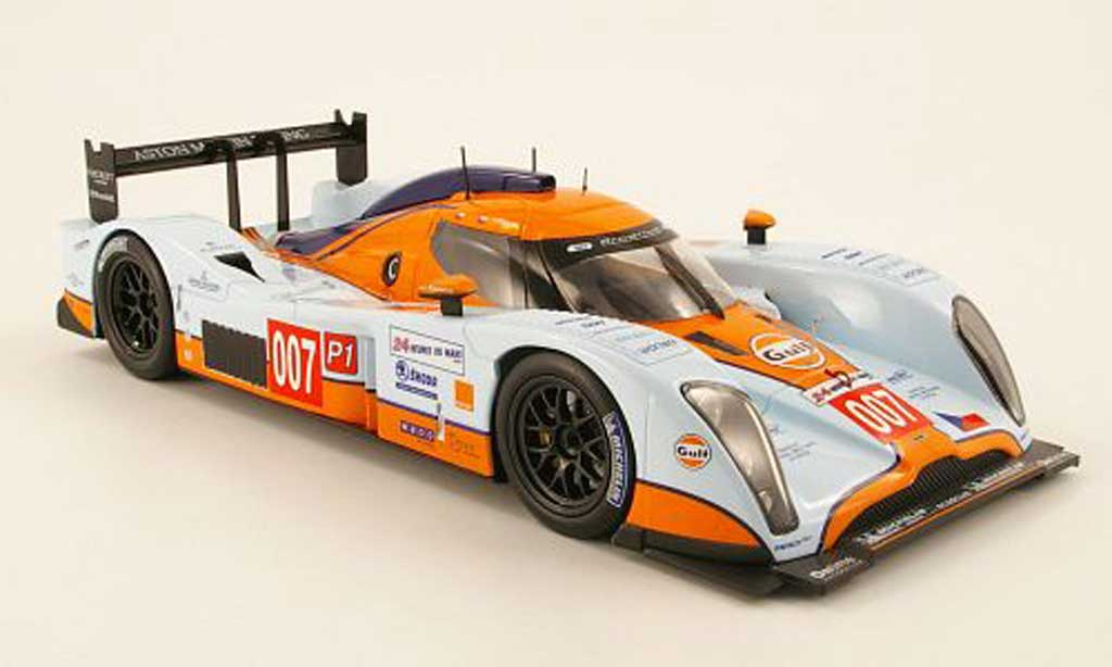 Aston Martin LMP1 1/18 Norev Lola no.007 gulf 24h le mans 2009 charouz / enge / mucke miniature