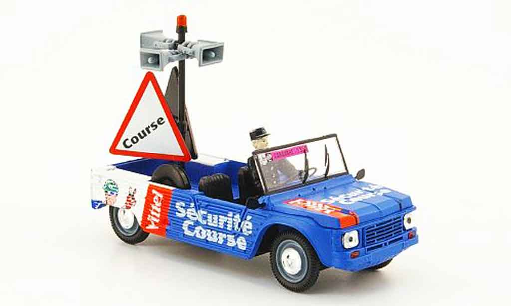 Citroen Mehari 1/43 Norev vittel securite course tour de france 2009 miniature