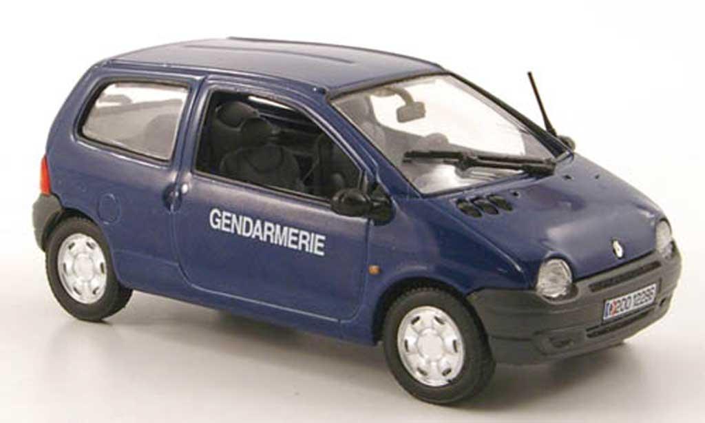 Renault Twingo 1/43 Norev Gendarmerie Polizei (FR) 2000 diecast