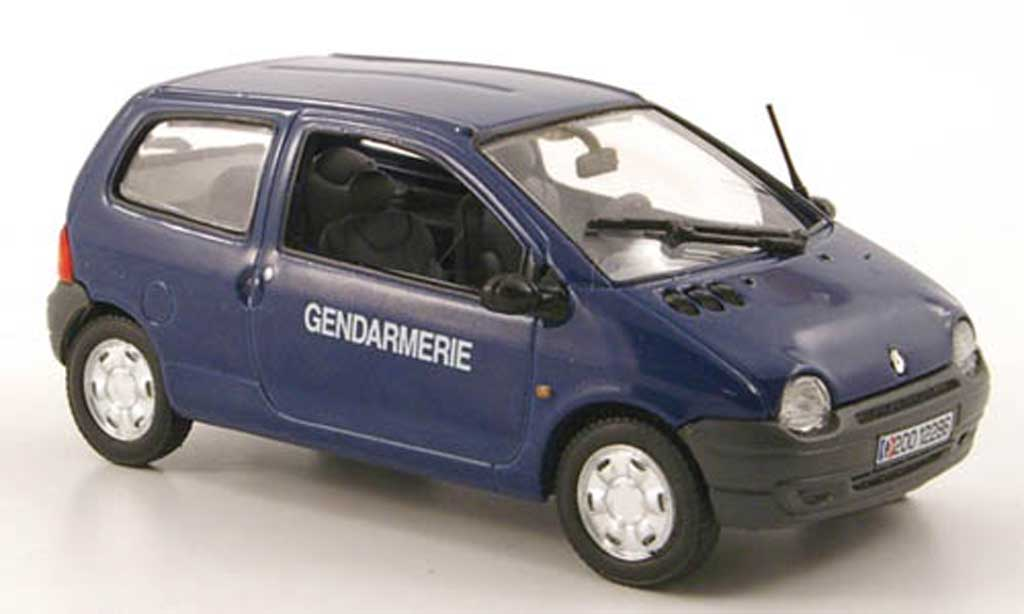 Renault Twingo 1/43 Norev Gendarmerie Polizei (FR) 2000 diecast model cars