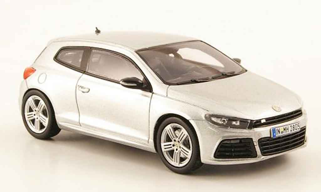 Volkswagen Scirocco 1/43 Provence Moulage scirocco r grise metalliseegrise 2009 miniature