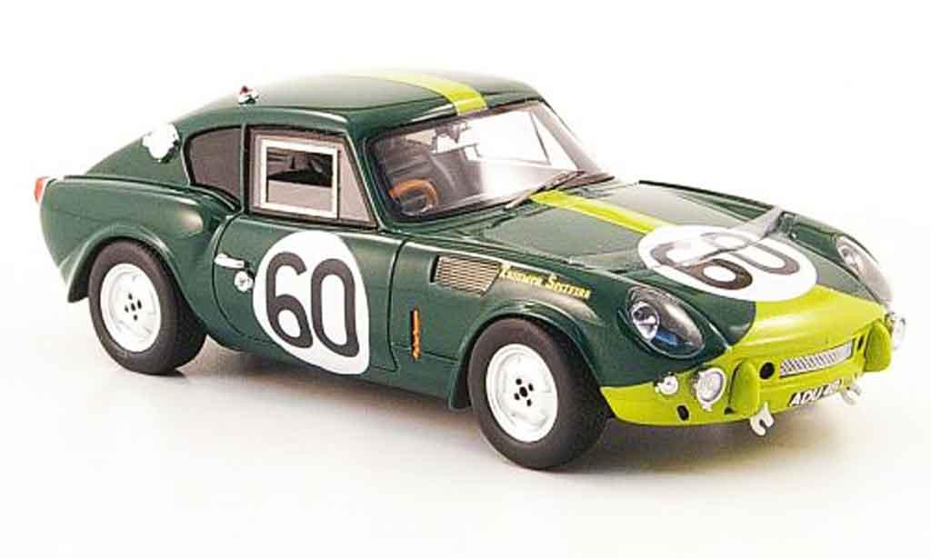 Triumph Spitfire 1/43 Spark No.60 Thuner Lampinen 24h Le Mans 1965 modellino in miniatura