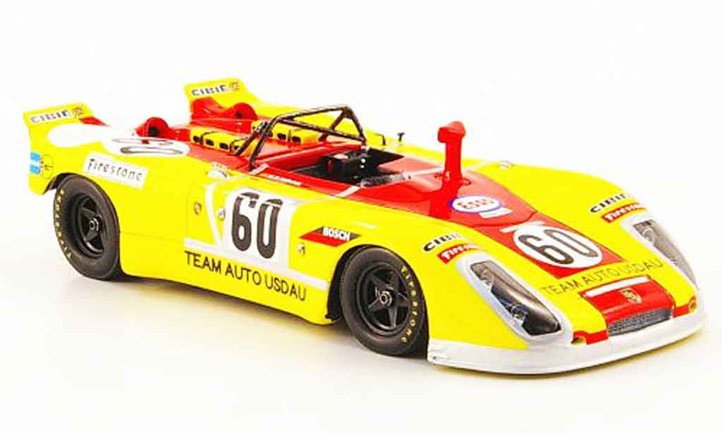 Porsche 908 1971 1/43 Spark No.60 Weigel Haldi 24h Le Mans miniature