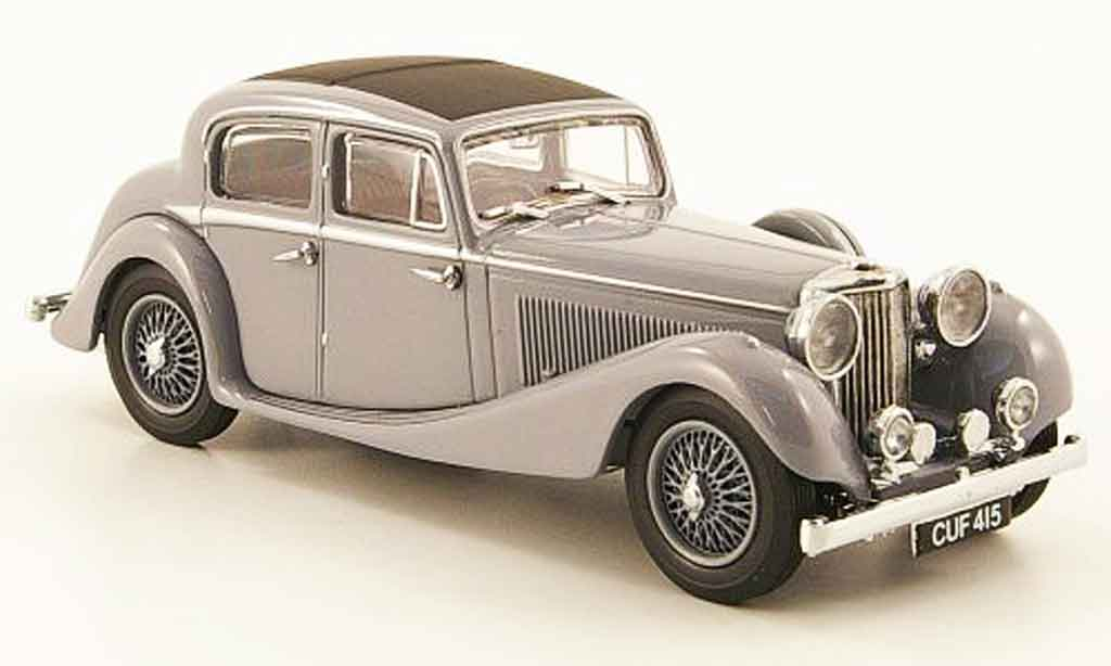 Jaguar SS 1/43 Oxford 2.5 saloon gray diecast