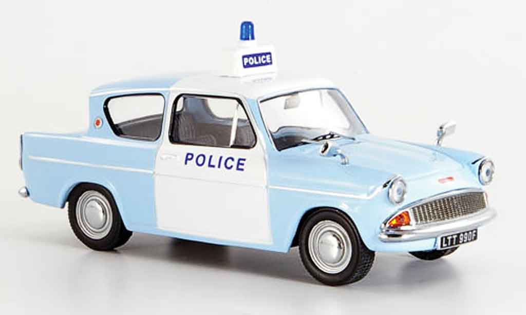 Ford Anglia 1/43 IXO Britische police 1963 miniatura