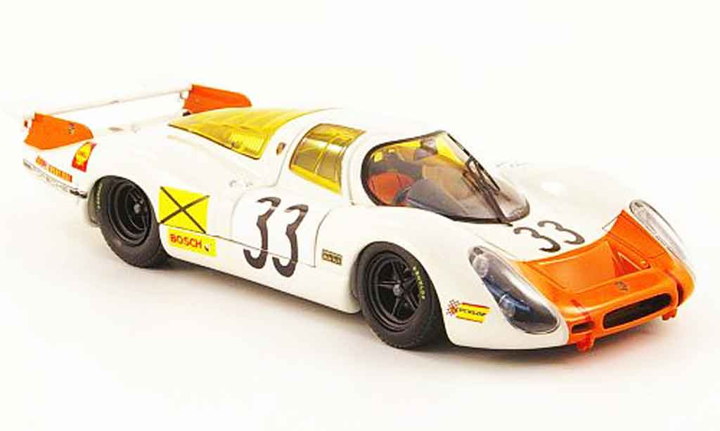 Porsche 908 1968 1/43 Ebbro No.33 24h Le Mans miniature