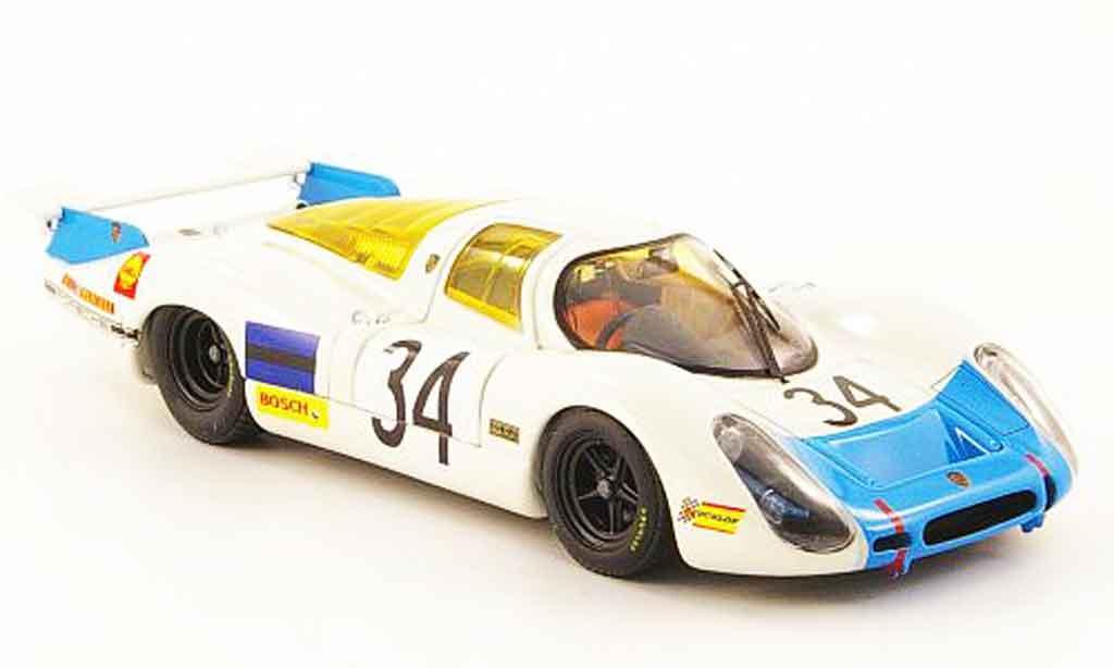Porsche 908 1968 1/43 Ebbro No.34 24h Le Mans miniature