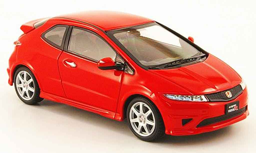 Honda Civic Type R 1/43 Ebbro red RHD diecast model cars