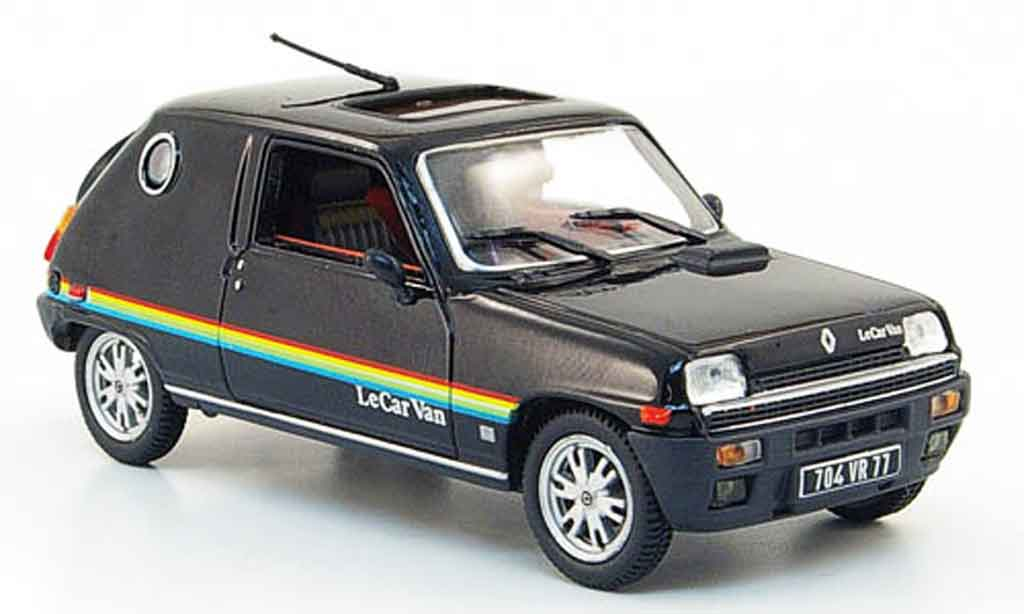 Renault 5 1/43 Nostalgie le car van schwarz 1979 modellautos