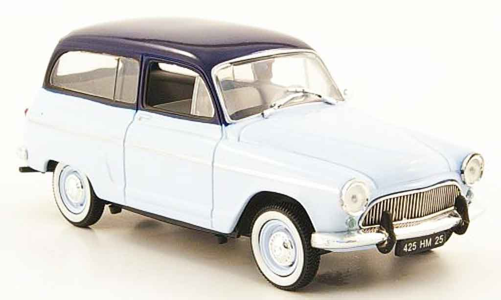 Simca Aronde 1/43 Nostalgie ranch  bleu 1961 miniature